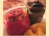 Stuffed Tomatoes and Peppers - (Gemista)